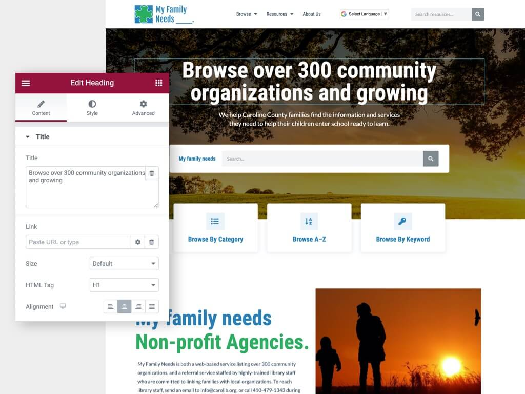 nonprofit-easy-to-update